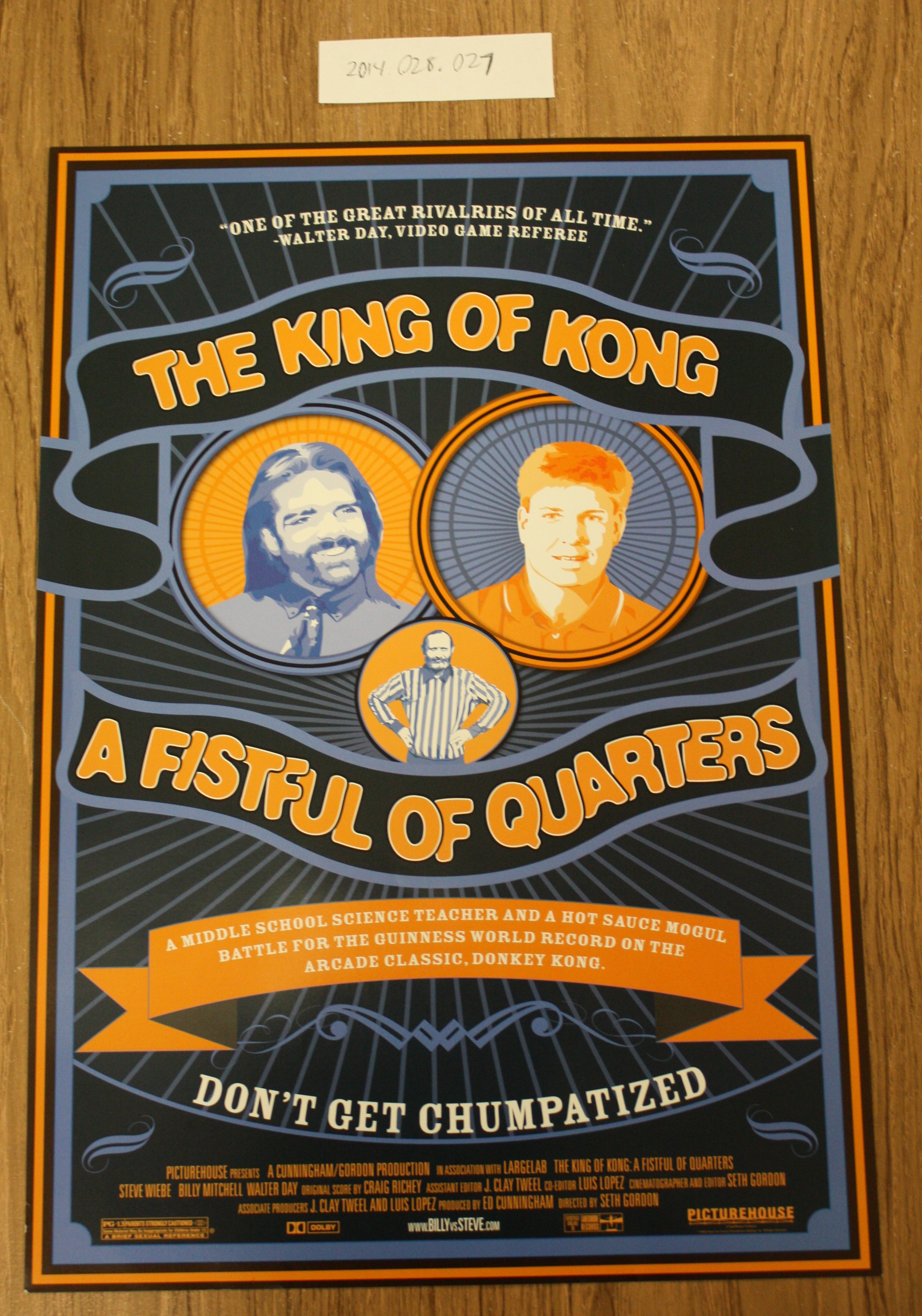 The King Of Kong A Fistful Of Quarters Poster Digital Game