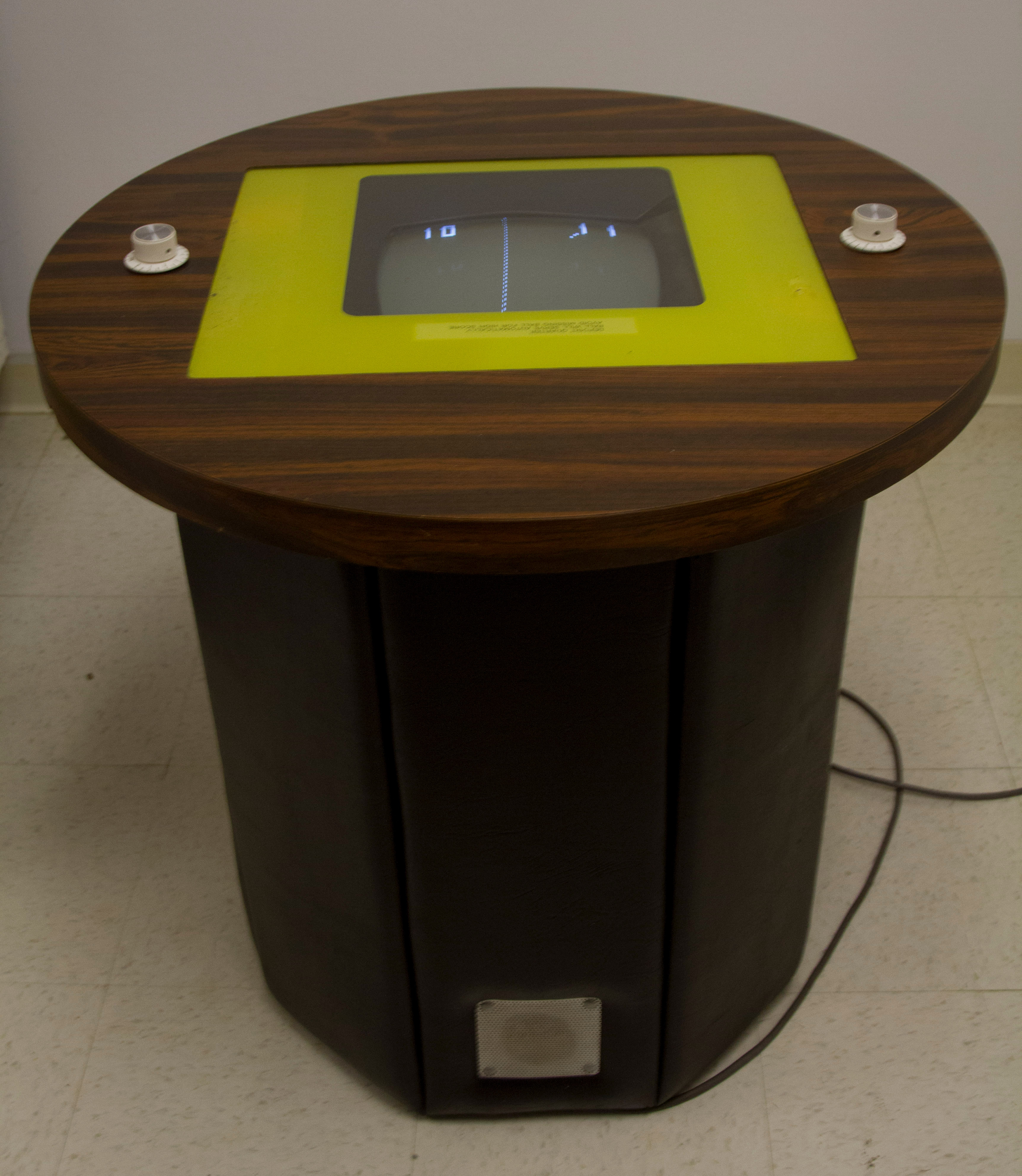Atari Pong Cocktail Table Arcade Game · Digital Game Museum Collection