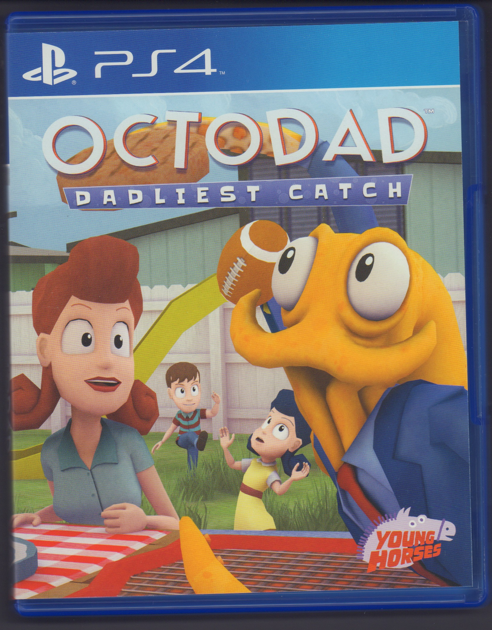 octodad dadliest catch for ps4 digital game museum collection