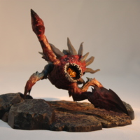 Defiance Launching Team Hellbug figurine