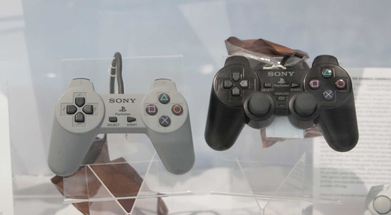 sony playstation 1994. evolution of the console controller \u2013 playstation (1994), dualshock (1997) sony playstation 1994
