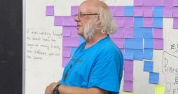 Steve Bristow introduces himself at DGM's 2012 Atari Party.
