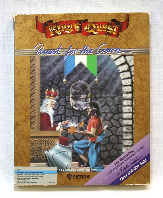 King's Quest box